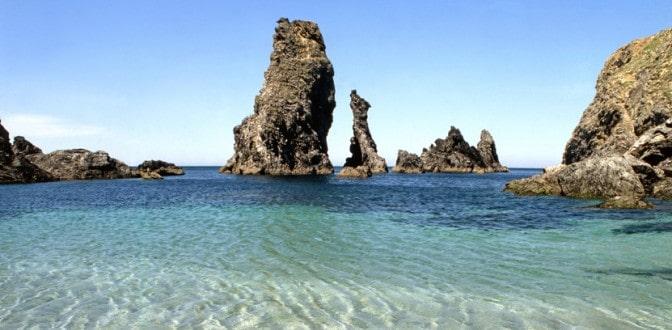 Belle-île en mer - Les aiguilles de port coton - Week-end en amoureux