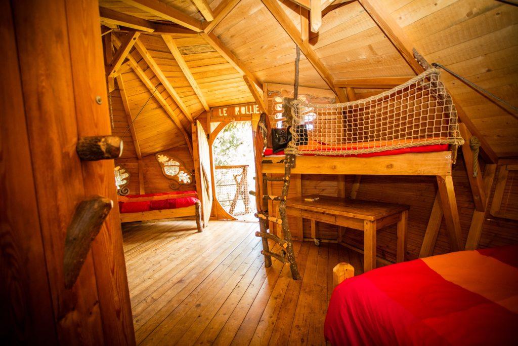 Domaine de l'Arbousier - cabane dans les arbres - hébergement insolite - Tourisme durable