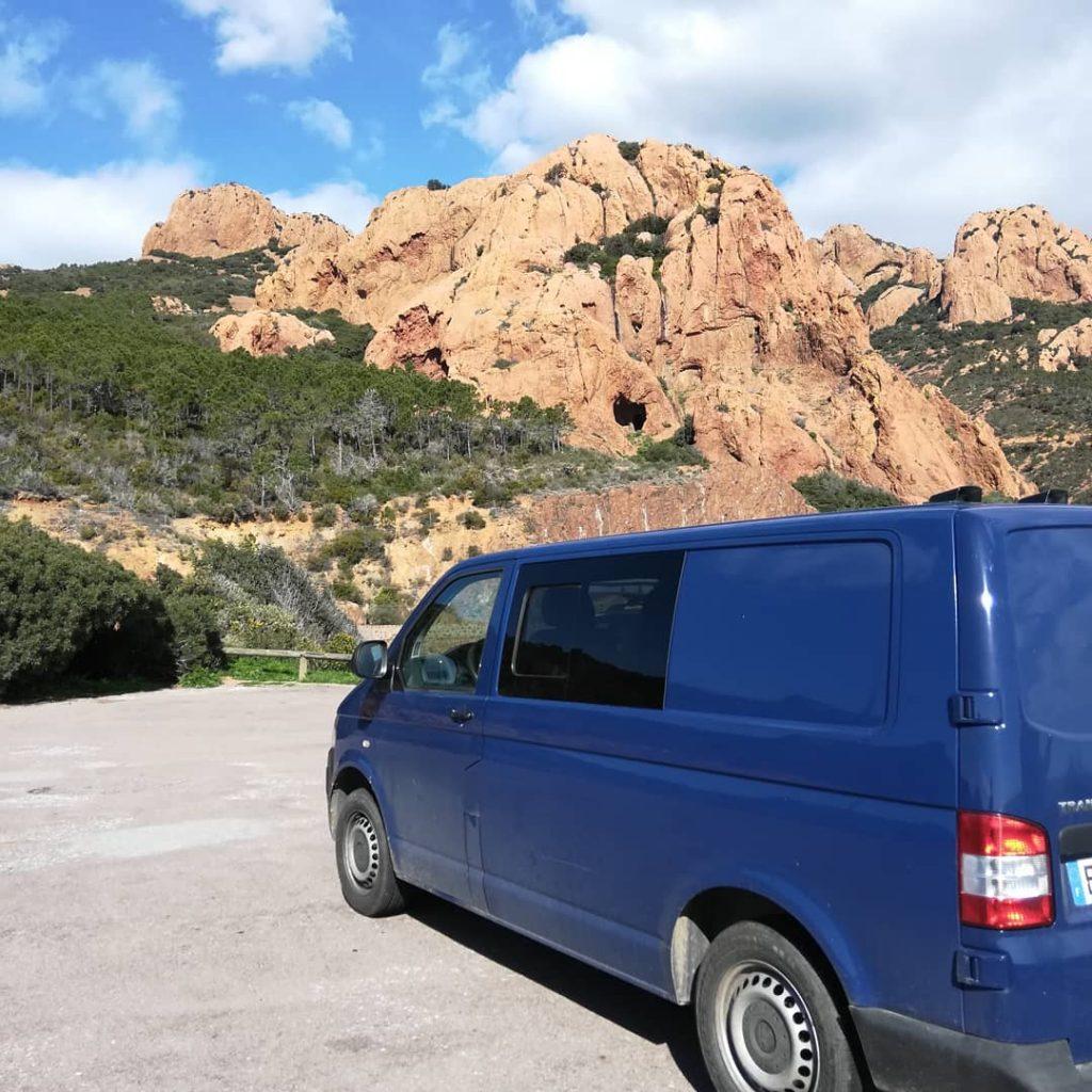 Road-trip Côte d'Azur - Road-trip van - Massif de l'Esterel - Route des Calanques - voyage en van