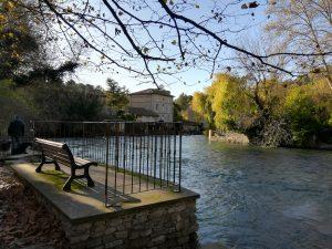 Fontaine de vaucluse - Gouffre - Luberon - Visiter le Luberon